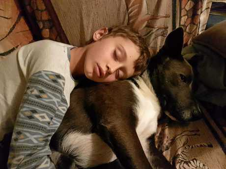When Jack and Blue laid eyes on each other, they knew they were going to be best mates. The nine-year-old boy from Goomburra and his four-year-old dog are inseparable and keep one another company through thick and thin.