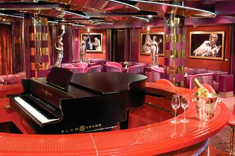 CLASS: The MS Noordam has a luxurious interior.