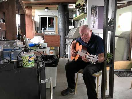 PERFORMANCE: Ballina Shire resident Klaas Nierop, 87, loves the outdoors and is part of the Fearless project.