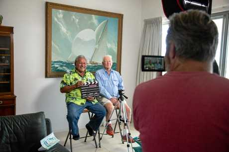 DOCO: Lismore's Peter Warner  with his crew mate Mano Totau, filmed by The Bakery Media's Simon Baker.