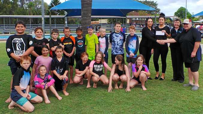 HELPING SAVE LIVES: Richmond Dairies funded Casino West students' swimming lessons.