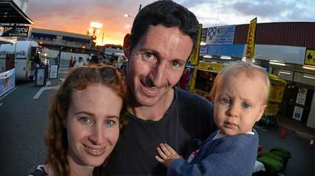 POPULAR EVENT: Out and about at Nambour Tramfest earlier in the year are the Rodgers family: Aimee, Luke and Bodhi, 16 months.