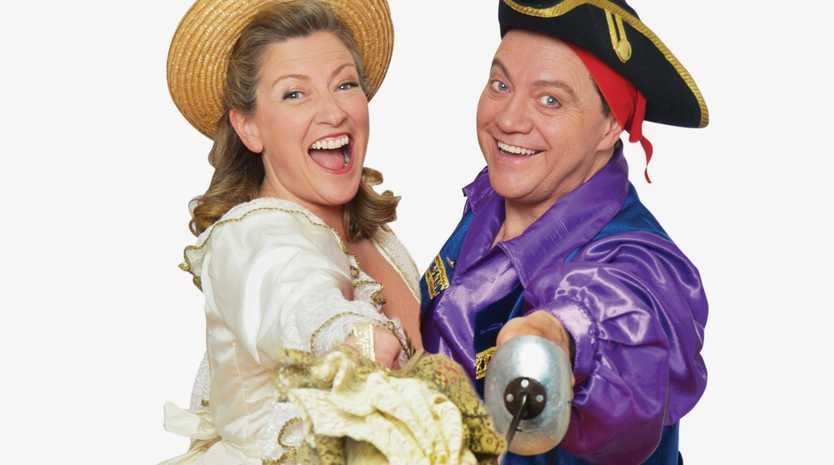 Catch the ultimate mash-up of Gilbert and Sullivan's work when Pirates to Pinafore comes to the Mackay Entertainment and Convention Centre.