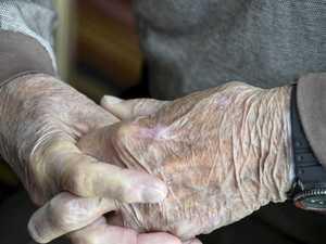 Elderly man's butt slap shame