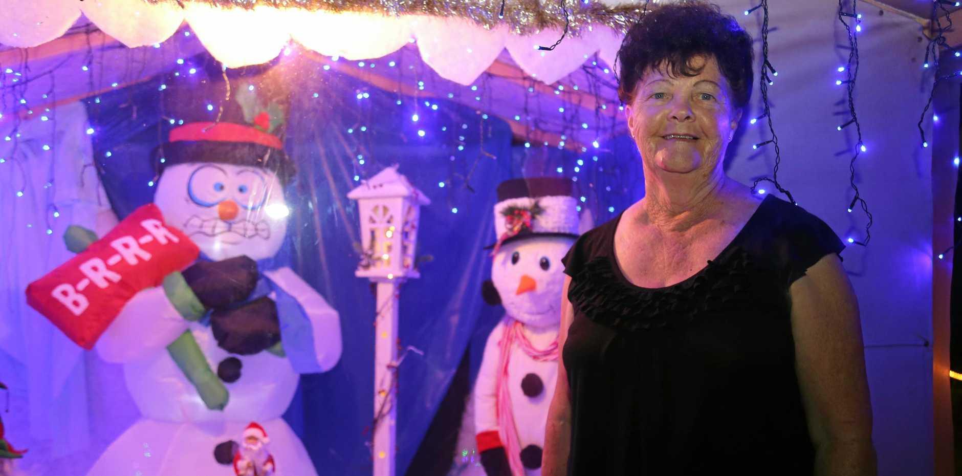 2017 WINNER: Wondai resident Kath Kennedy won the 2017 South Burnett Christmas Lights competition.