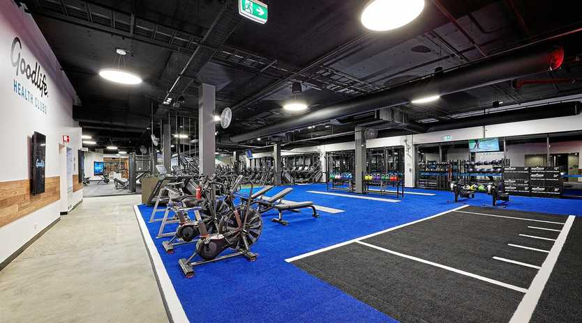 GYM LIFE: Toowoomba's new Goodlife Health Club will follow a similar layout to this one.