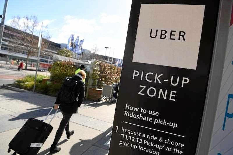 Uber begins in Mackay.