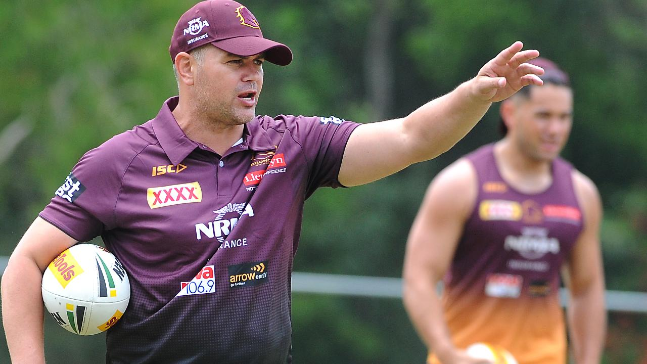 Anthony Seibold has wasted no time spelling out his expectations. (AAP image, John Gass)