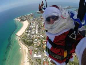 When Santa will drop in at Coolangatta