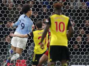 Sane continues prolific form as City increases lead