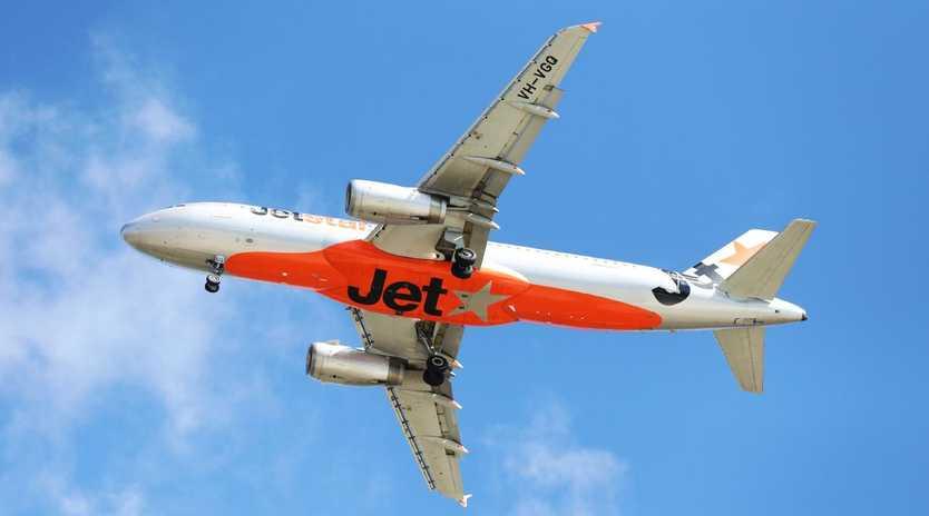 Jetstar has dropped a massive Christmas sale. Picture: NIGEL HALLETT