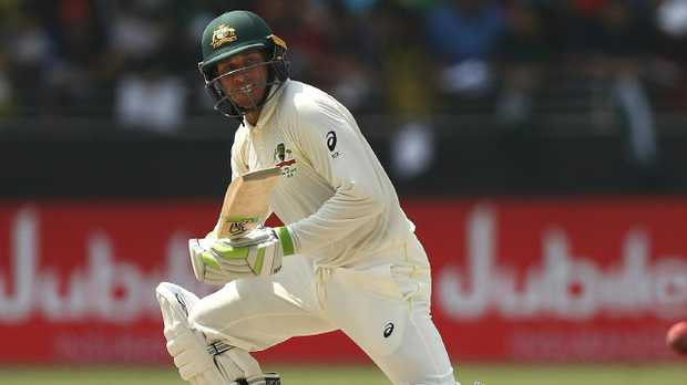 Usman Khawaja led the way with the bat. Picture: Getty Images