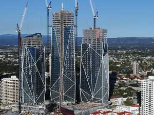 Three hurt at $1b Jewel tower site