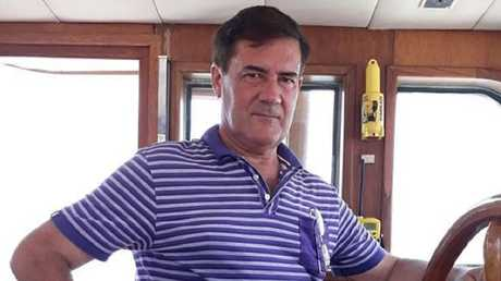 Hervé Jaubert, the French ex-spy who tried to help Princess Latifa escape from Dubai. Picture: Twitter