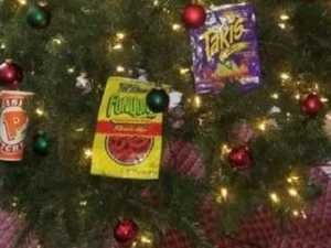 Outrage over 'racist' Christmas tree