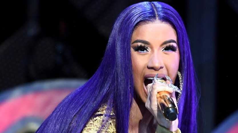Cardi B has announced she has split from her husband Offset. Picture: Getty