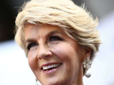 Julie Bishop has sided with Malcolm Turnbull. Picture: Getty