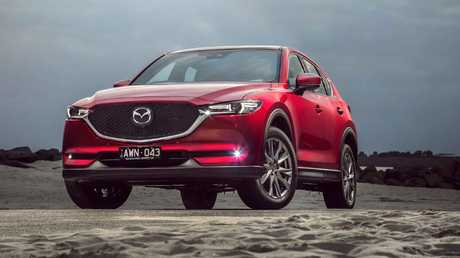 Mazda CX-5: the best selling SUV in November.