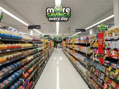 Woolworths is asking permission to have staff stock shelves on Christmas. Picture: Adam Smith