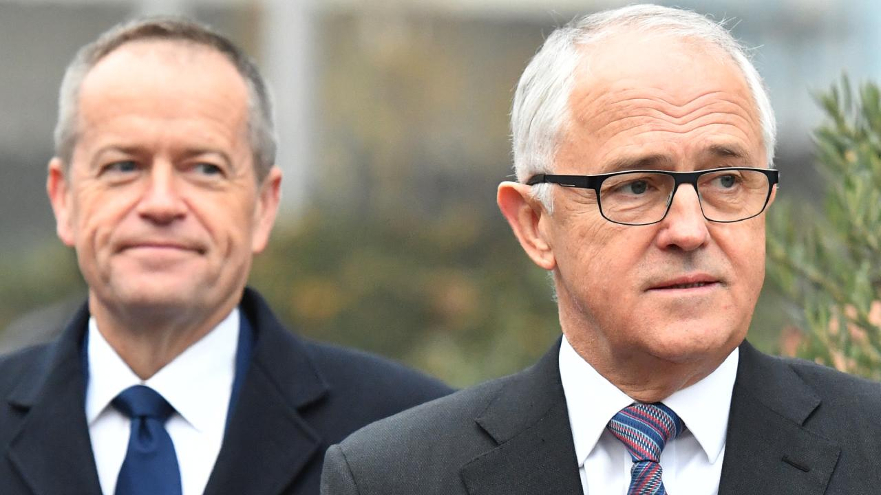 Prime Minister Malcolm Turnbull and reportedly been having meetings with Bill Shorten over the NEG.  Picture:  AAP
