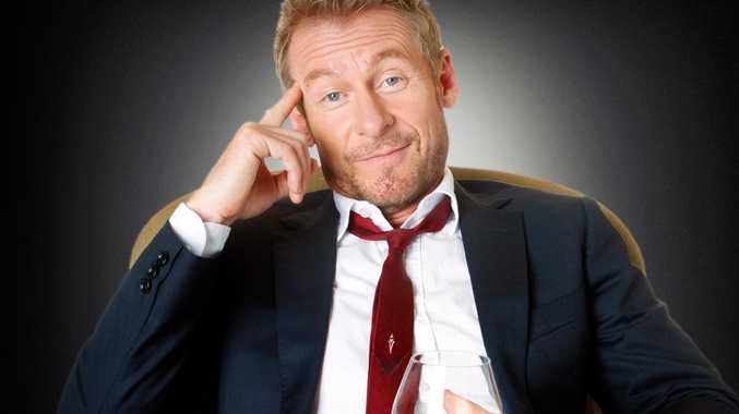 WTF: Rake's Cleaver Greene, played by Richard Roxburgh, let fly the expletives on a memorable episode. Picture: ABC