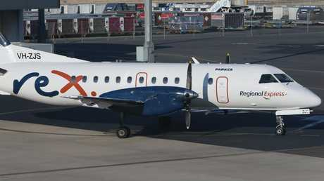 It's understood Regional Express Airlines staff received the threatening call. Picture: AAP/Emma Brasier