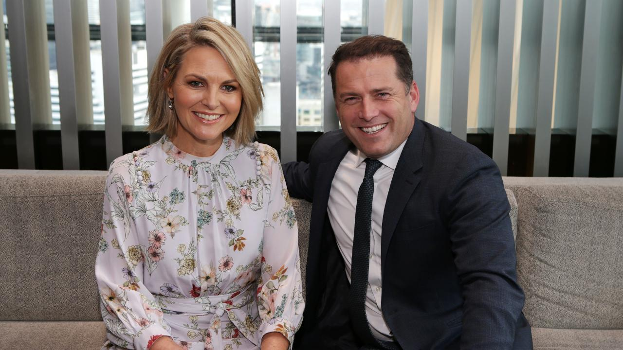 Karl Stefanovic and Georgie Gardner. Picture: Julie Kiriacoudis