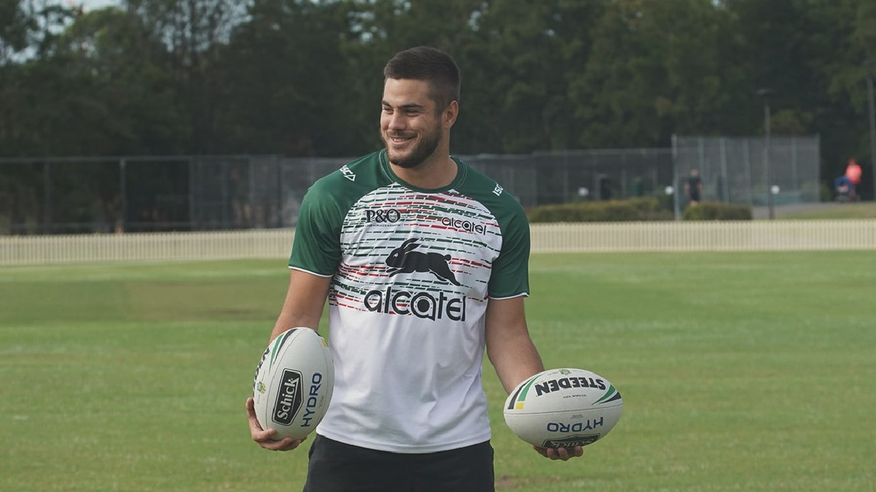 Corey Allen gets his chance with the Rabbitohs. Photo: South Sydney Rabbitohs.