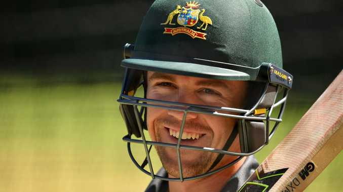 Travis Head provided some resistance for Australia. Pic: Getty Images