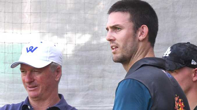 Mitchell Marsh has been forced to go back to state cricket to find form, something Steve Waugh had to do three decades ago. (AAP Image/Dave Hunt)
