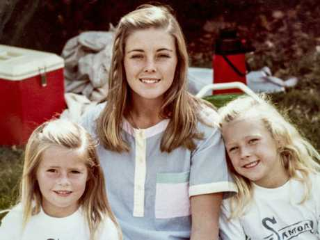 Joanne with Lyn's daughters Shanelle and Sherryn Dawson. Picture: Supplied