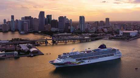 Norwegian Cruise Line's Norwegian Sky in Miami, Florida. Picture: Supplied