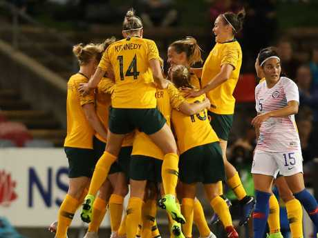 The stars are aligning for the Matildas' World Cup hopes. Pic: Getty Images