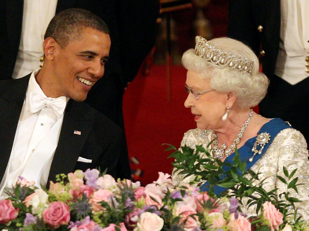 "Barack Obama has called the Queen one of his ""favourite"" people. Picture: Getty Images"