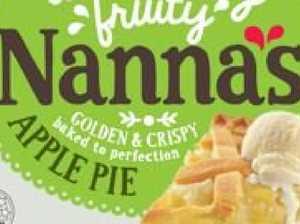 Urgent recall for popular pie brand