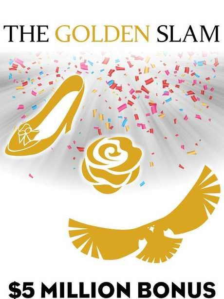 Should one horse win the Golden Slipper, Golden Rose and Golden Eagle connections will pocket a $5 million Golden Bonus.