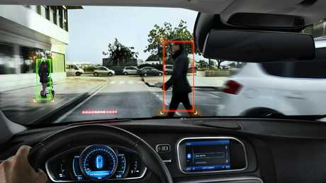 AEB in most instances can identify and stop for pedestrians.