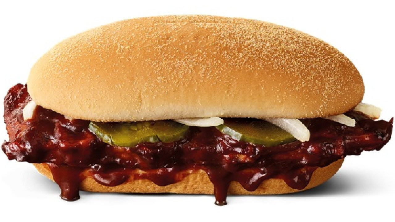 McDonald's launch the McRib, BBQ Loaded Fries and the Chicken McFeast today.