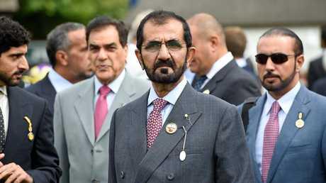Sheikh Mohammed bin Rashid Al Maktoum. Picture: David M Benett