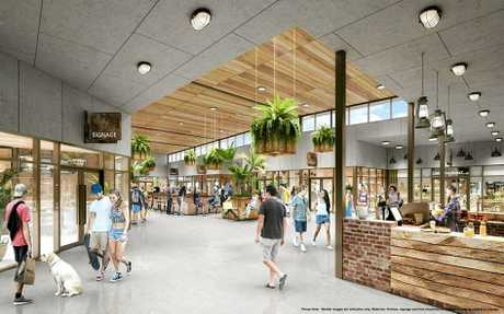 Mercato artist impressions (Indicative only. Materials, finishes, signage and final shopfront arrangements may be subject to change.) Sourced from Raine&Horne.