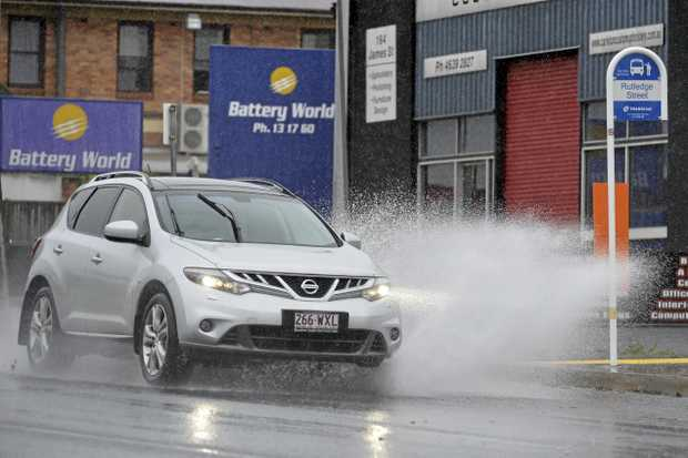Weather conditions, like storms and rain, the windscreen can fog up and that makes it difficult.