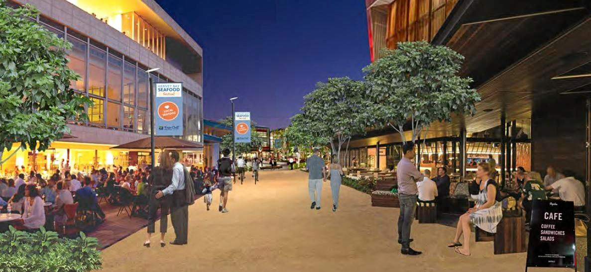 The Hervey Bay CBD Urban Renewal Masterplan will go before councillors tomorrow. Photo Contributed / Fraser Coast Chronicle