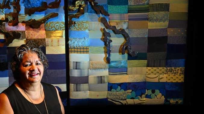 SELFLESS: Judith Shea speaks at International Volunteer Day at Venue 114.