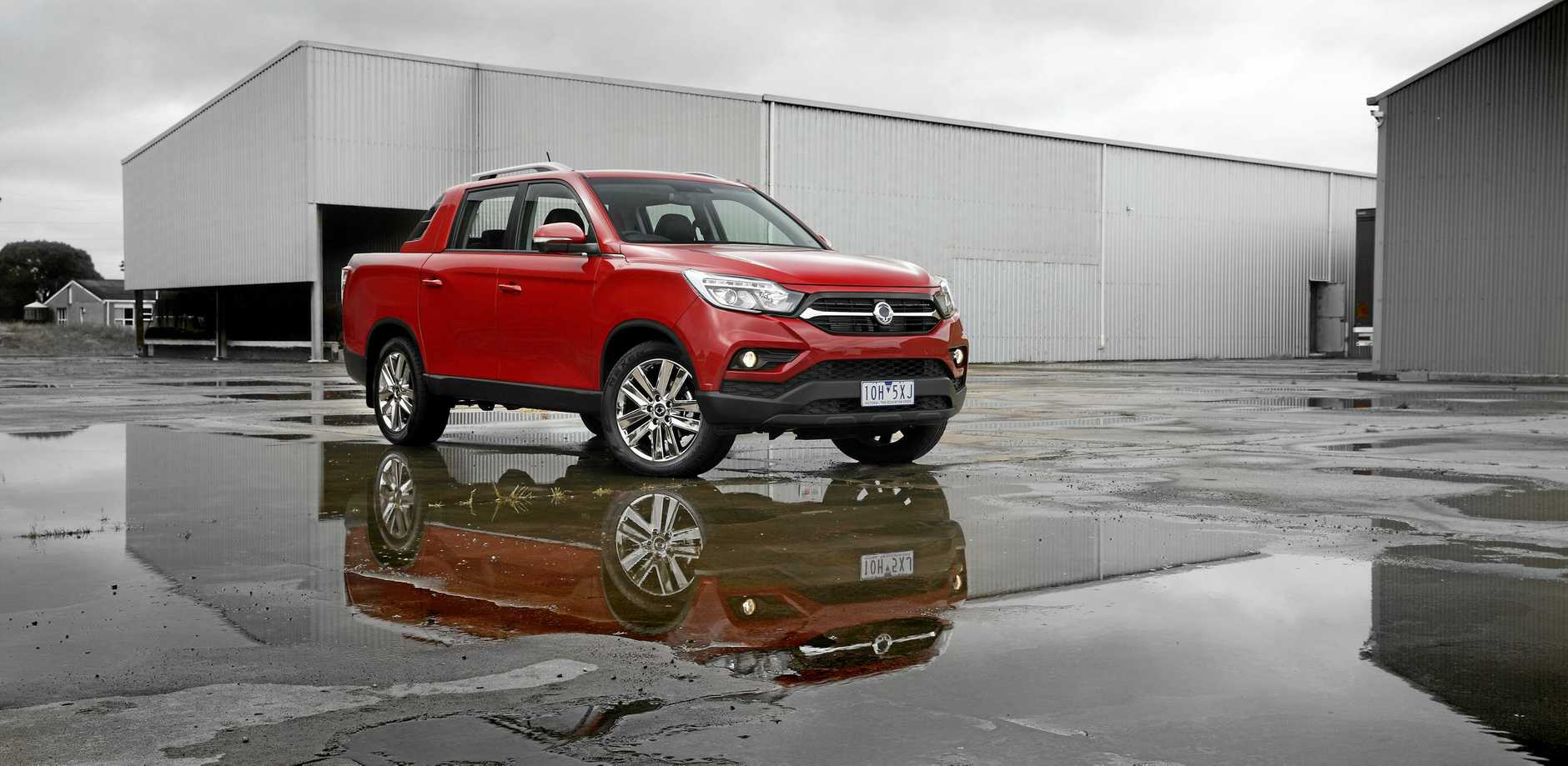 The SsangYong Musso starts from $30,490 drive-away for the EX with a manual transmission, while the range-topper Ultimate is $39,990 drive-away.