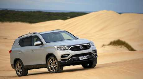 The SsangYong Rexton has a 3.5-tonne towing capacity.