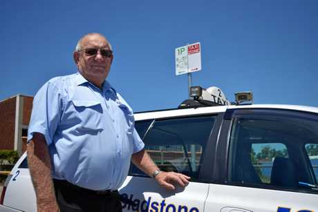 Blue and White Taxis Gladstone chairman Allan Rowe.