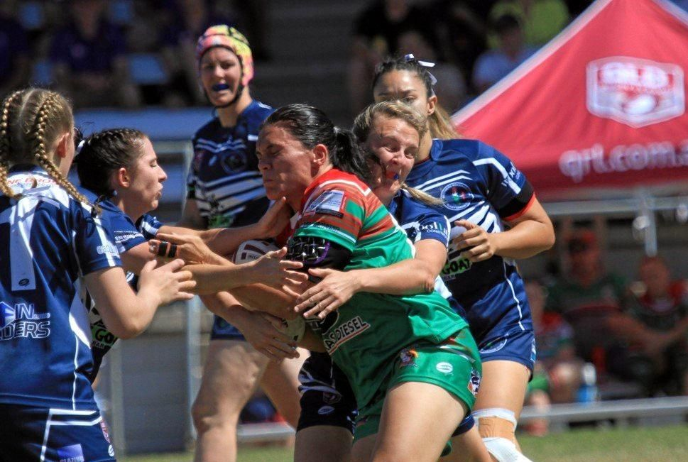 OUTNUMBERED: Tannum Seagals and Rockhampton Brothers will not feature in a grand final re-match in season 2019. The Gladstone and Rockhampton women's competitions will go their separate ways next season.