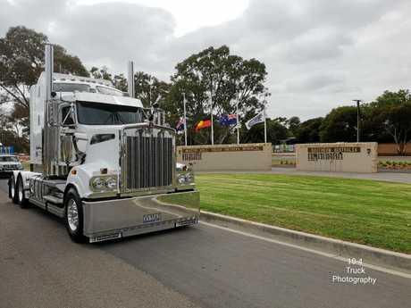 Truck Drivers Memorial.