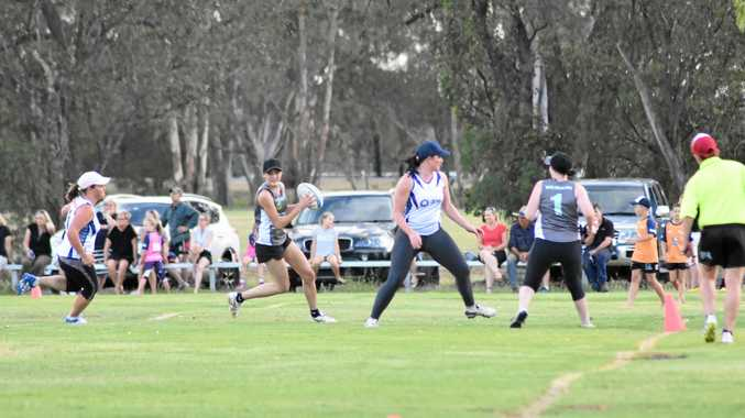 HOTLY CONTESTED: Hot to Touch faced off against Wii Not Fit in the ladies A-grade grand final, winning the match 10-1.