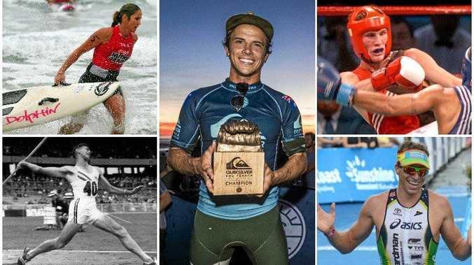 Counting down Sunshine Coast's 30 greatest sports stars.